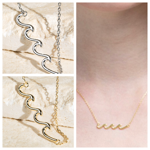Feel The Waves Necklace