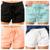 Linen Blend Waistband Shorts
