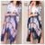 Long Tie Dye Kimono
