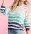 Multi-Striped Pull Over Sweater