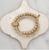 Stone + Stick Multi-Strand Stretch Bracelet