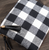 Buffalo Check Wristlet/Crossbody Clutch