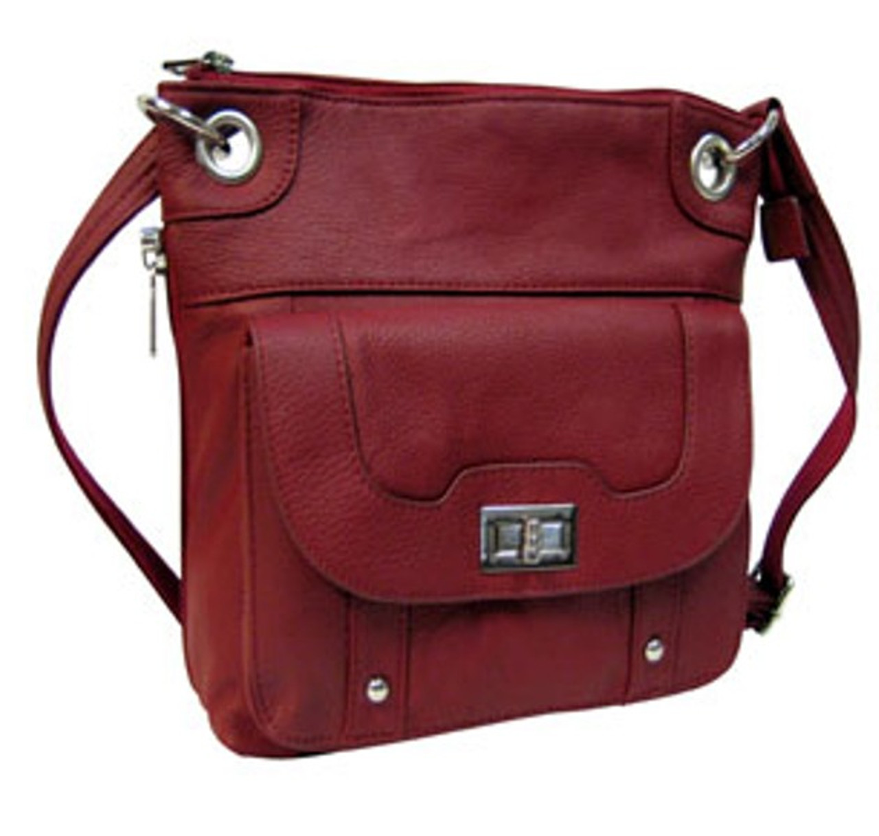Buy our Roma Cross Body Concealed Carry Handbag/