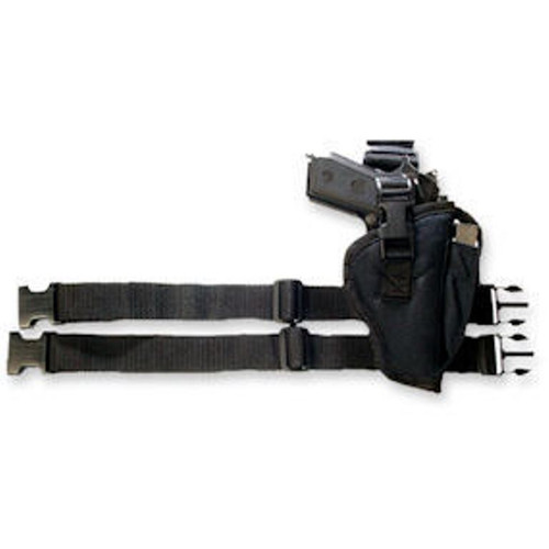 Black Tactical Leg Holster Med