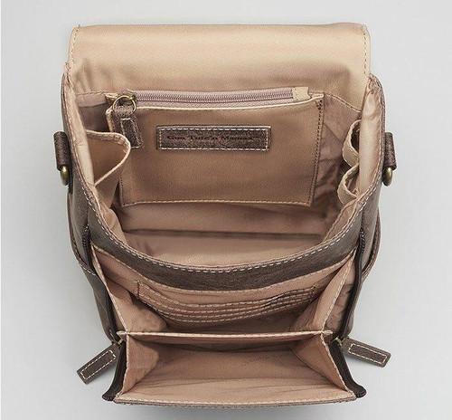 f8c98dcab3d Distressed Leather CCW Cross body Bag