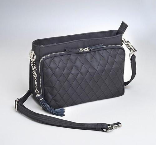 Quilted Shoulder Clutch CCW Handbag