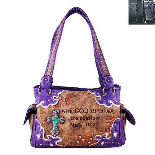 Bible Shoulder  CCW Handbag