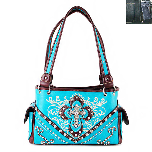 Cross Bling CCW Handbag