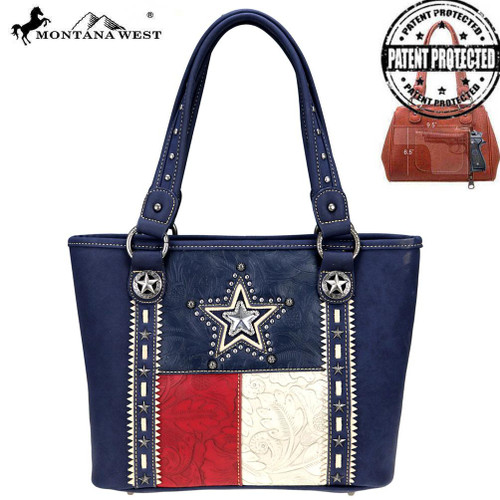 Texas Pride Collection Concealed Carry Tote