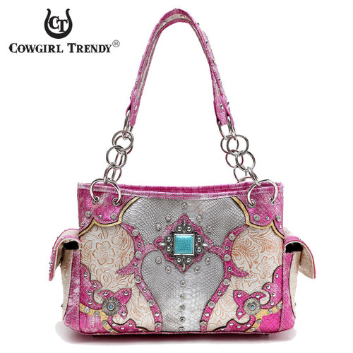 Square Stone Concealed Carry Handbag