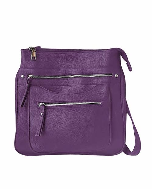 Triple Zip Pocket CCW Handbag