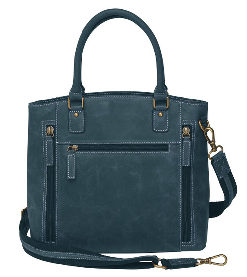 Distressed Leather Town Tote