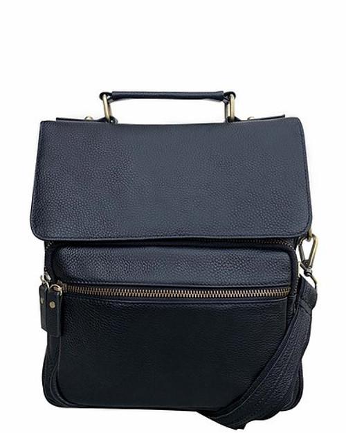 Classic Leather Concealment Satchel