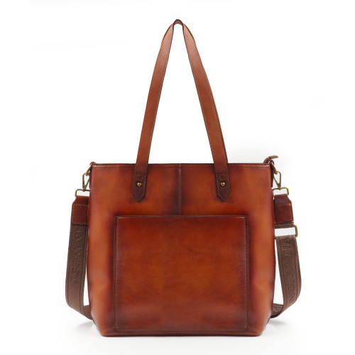 Leather Safety Travel Tote/Crossbody CCW