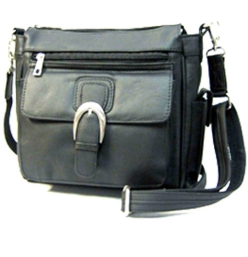 Leather Flap Conceal Holster Purse