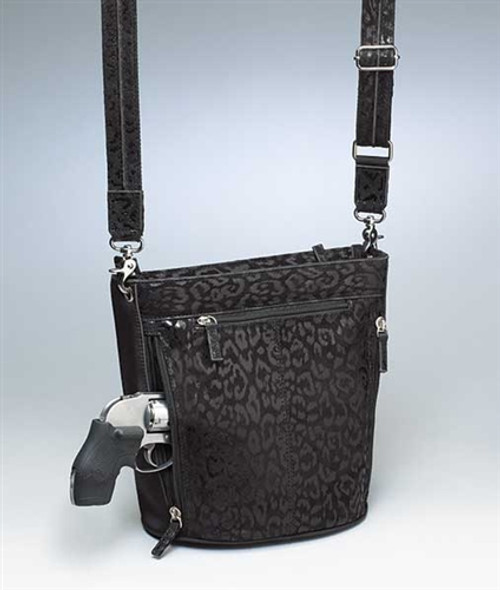 Leather Holster Handbag (GTM-0021DB)