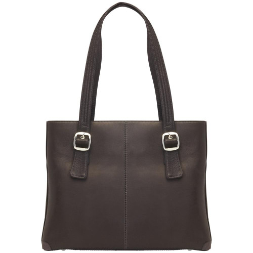 CCW  Fine Leather  Laptop  Tote  with Holster