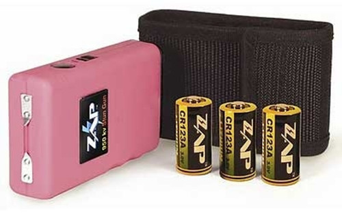 Zap Stun Gun 950,000 Volts Pink with holster