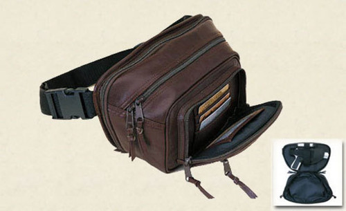 Concealed Carry Fanny Pack With Extra Pocket Medium
