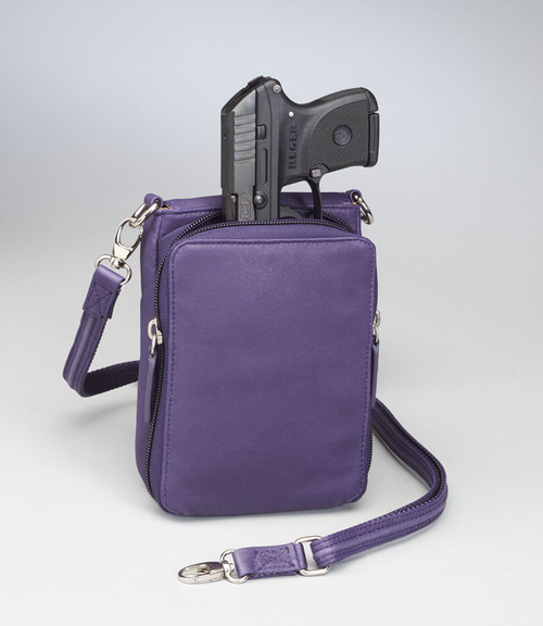 New Conceal Carry Gun Purse X-Body Smart Phone