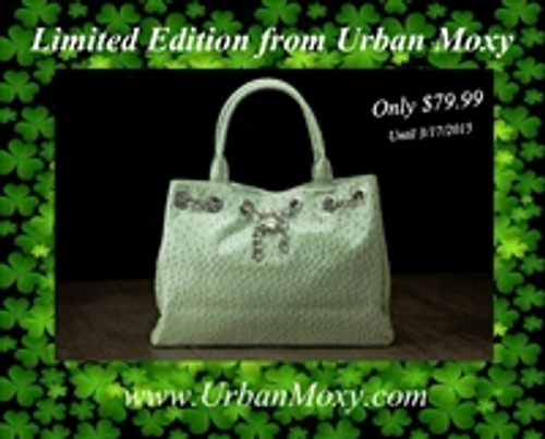 Softly Mint CCW Tote & Holster
