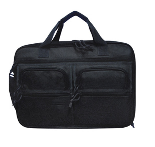 Briefcase and Shooter bag