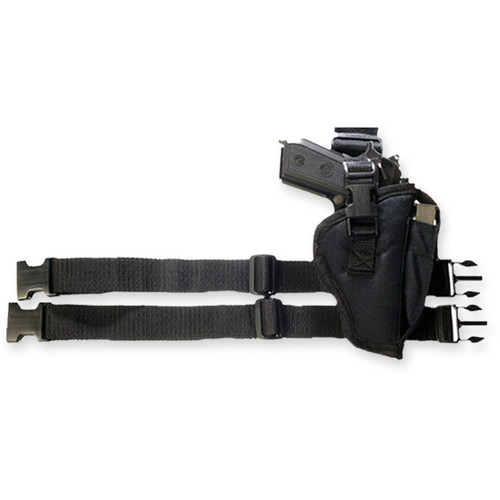 Black Tactical Leg Holster (RH)