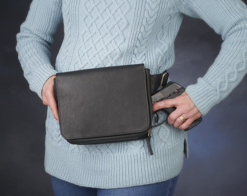 Fashionable Leather Waist Pack