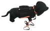 K9 Adventure Set - Includes Reflective Leash, Collar, and Dog Pack - Reflective Strip