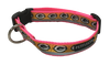Green Bay Packers Dog Collar - Reflective - Pink Nylon - Super Strength - NFL Team Logos