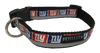 New York Giants Dog Collar - Reflective - Nylon - Super Strength - NFL Team Logos