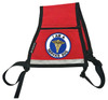 SitStay Service Dog Reflective Vest - Includes Service Dog Patch - Reflective Strip