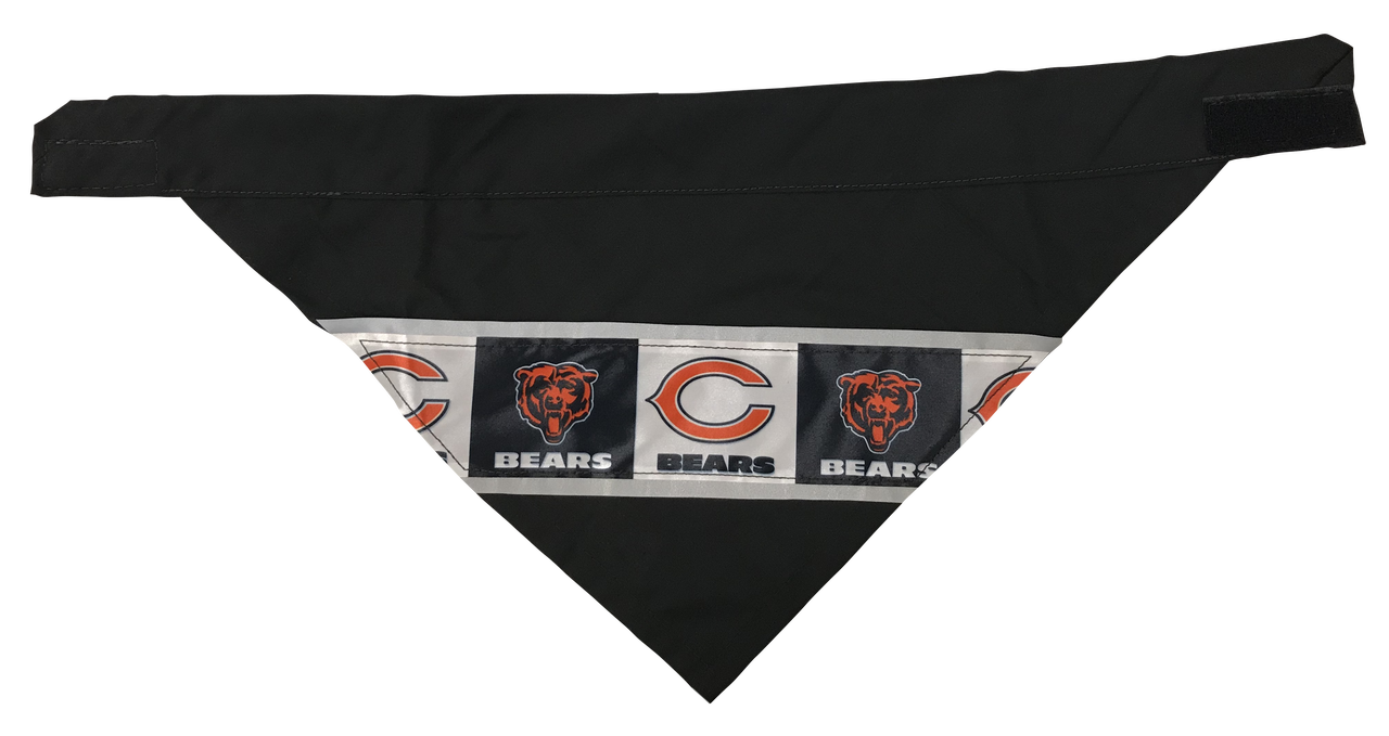 d7bbbcbcfd5 Chicago Bears - Reflective Dog Bandana - One Size to Fit Medium to Large  Dogs