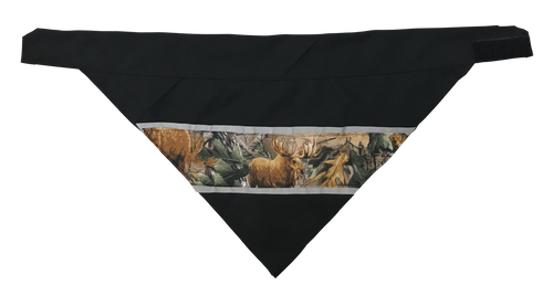 Real Tree Camo - Reflective Dog Bandana - One Size to Fit Medium to Large Dogs