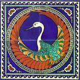 Phoenix bird  on 4 tiles