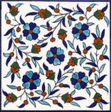 Jerusalem floral pattern