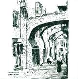 Via Dolorosa - the stations of the Cross
