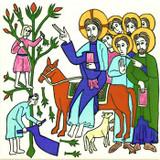 Palm Sunday, the triumphant entry