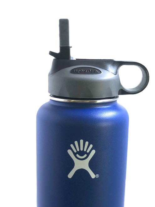 Black/Grey Hydro Flask Straw Lid