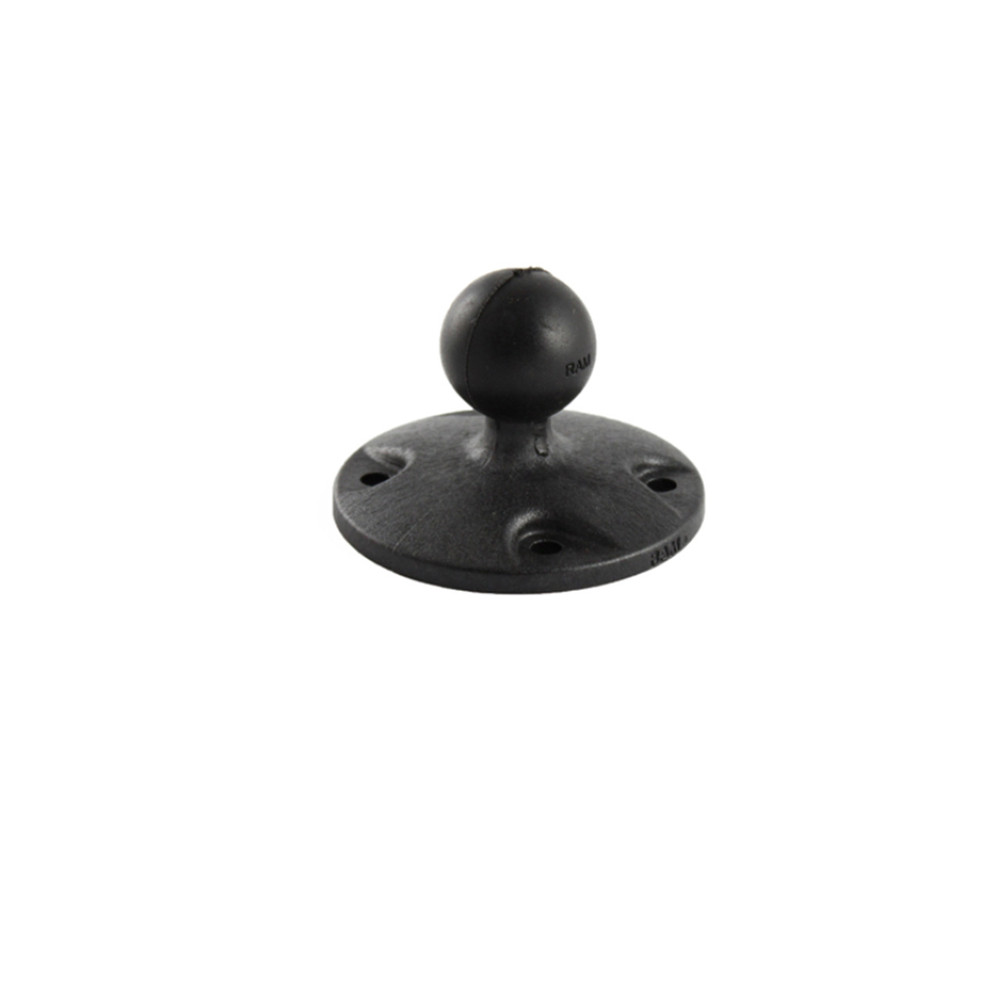 RAM 2.5 Round Base with AMPs Hole Pattern/1 Ball