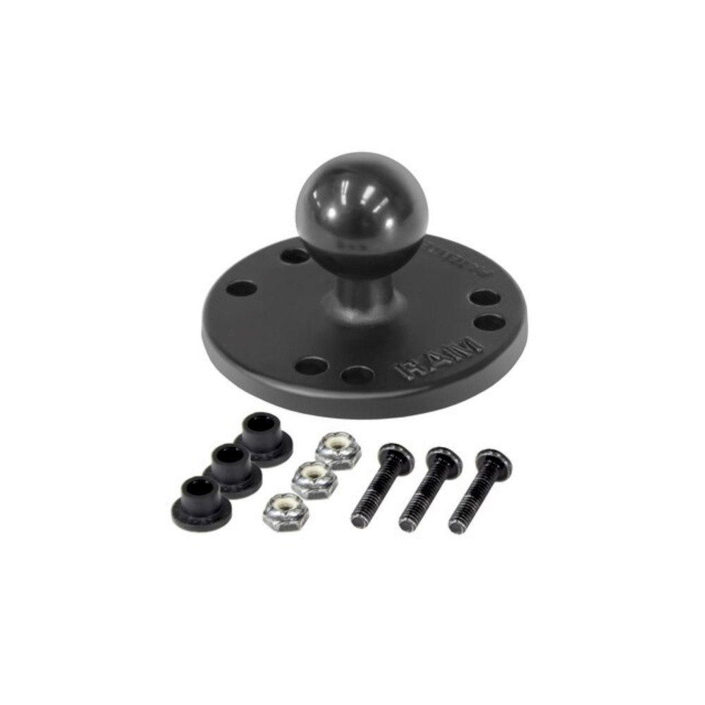 """RAM 1"""" Base and Raymarine Dragonfly Attachment Kit"""