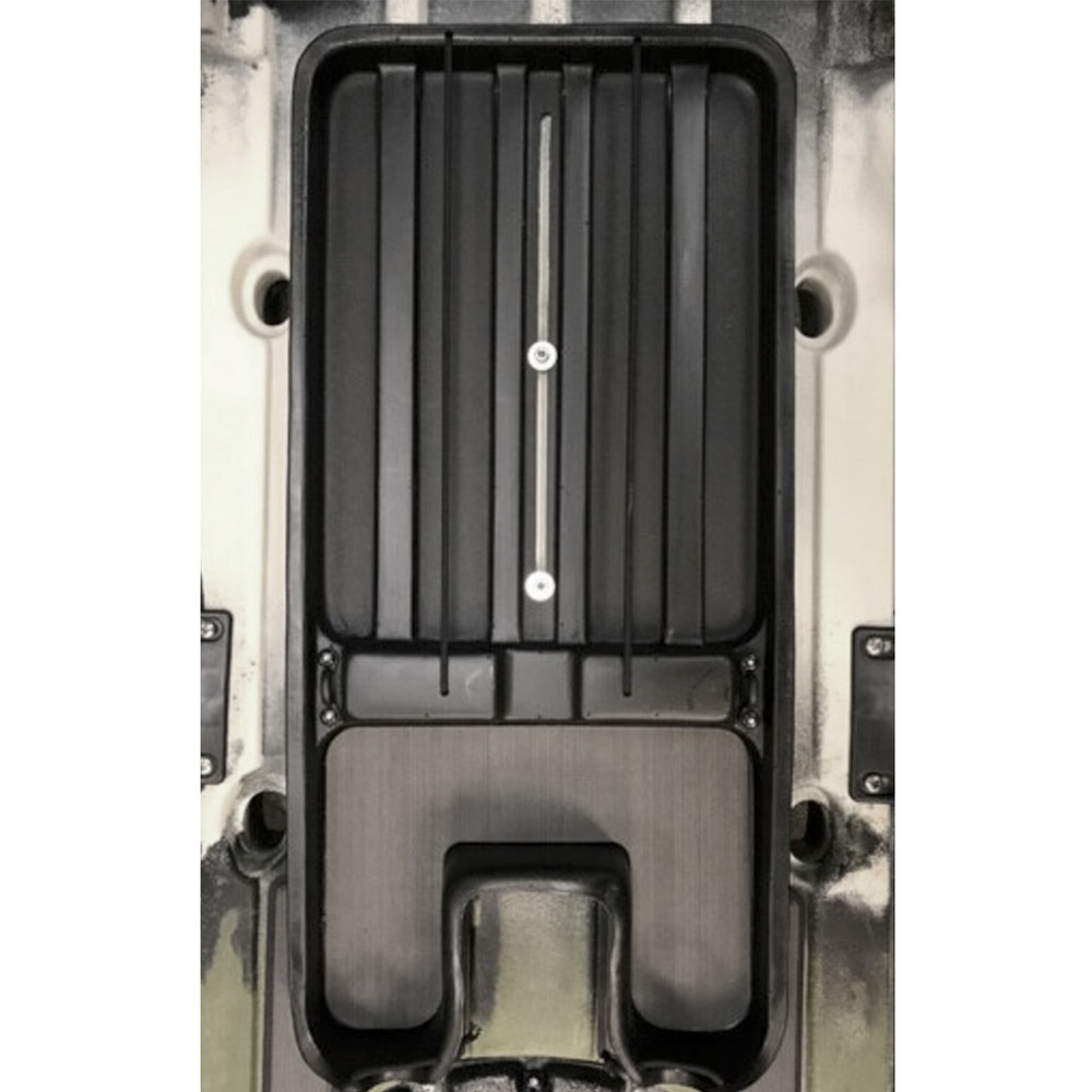 Under Seat Sliding Tray in boat