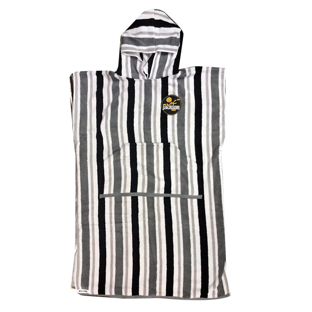 Boofaloop Robe; Black Stripe