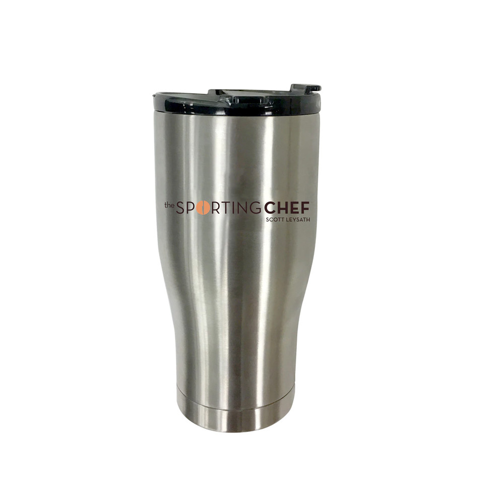 Orion Coolers and Sporting Chef co-branded 27 ounce insulated tumbler