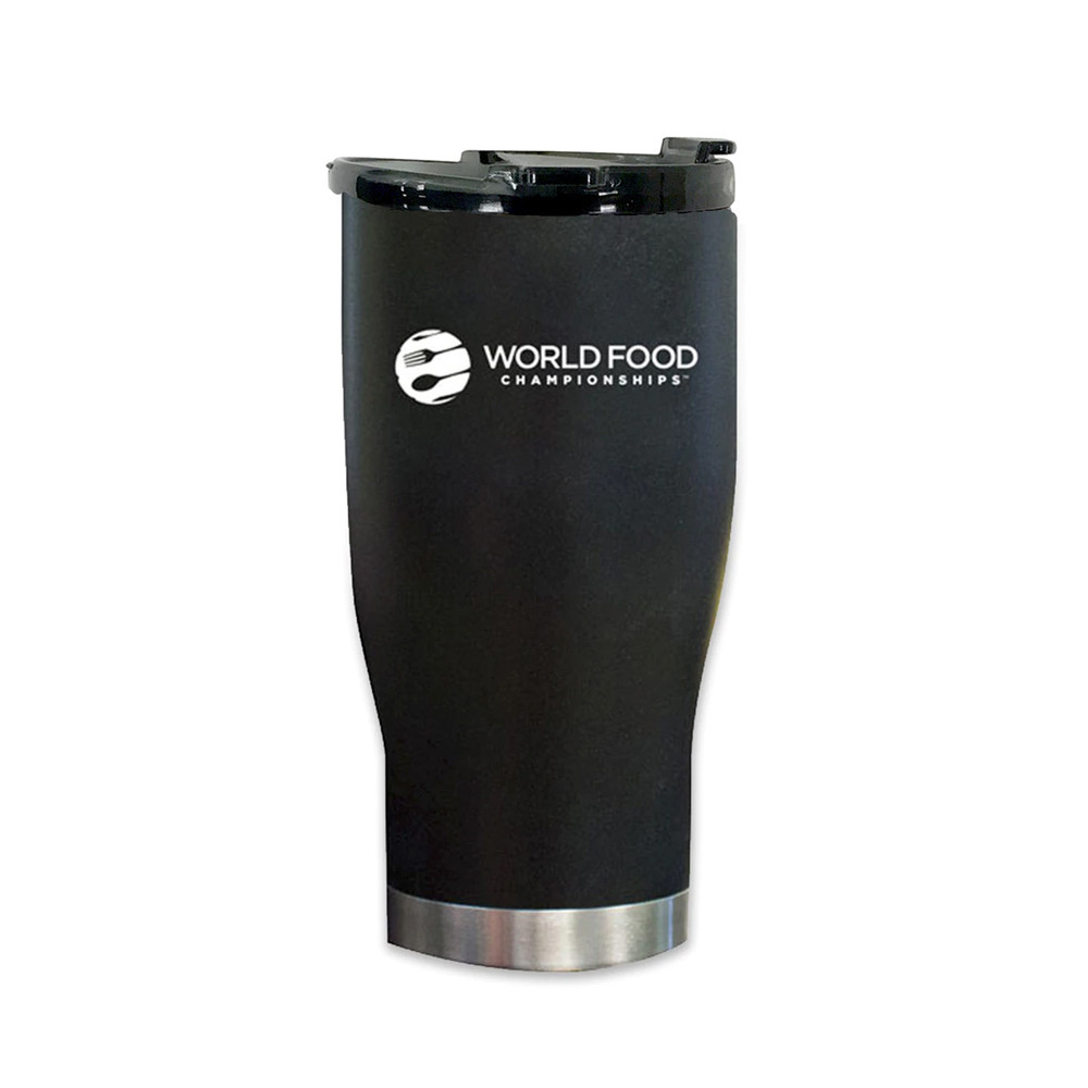 Orion Tumbler branded with World Food Championship logo