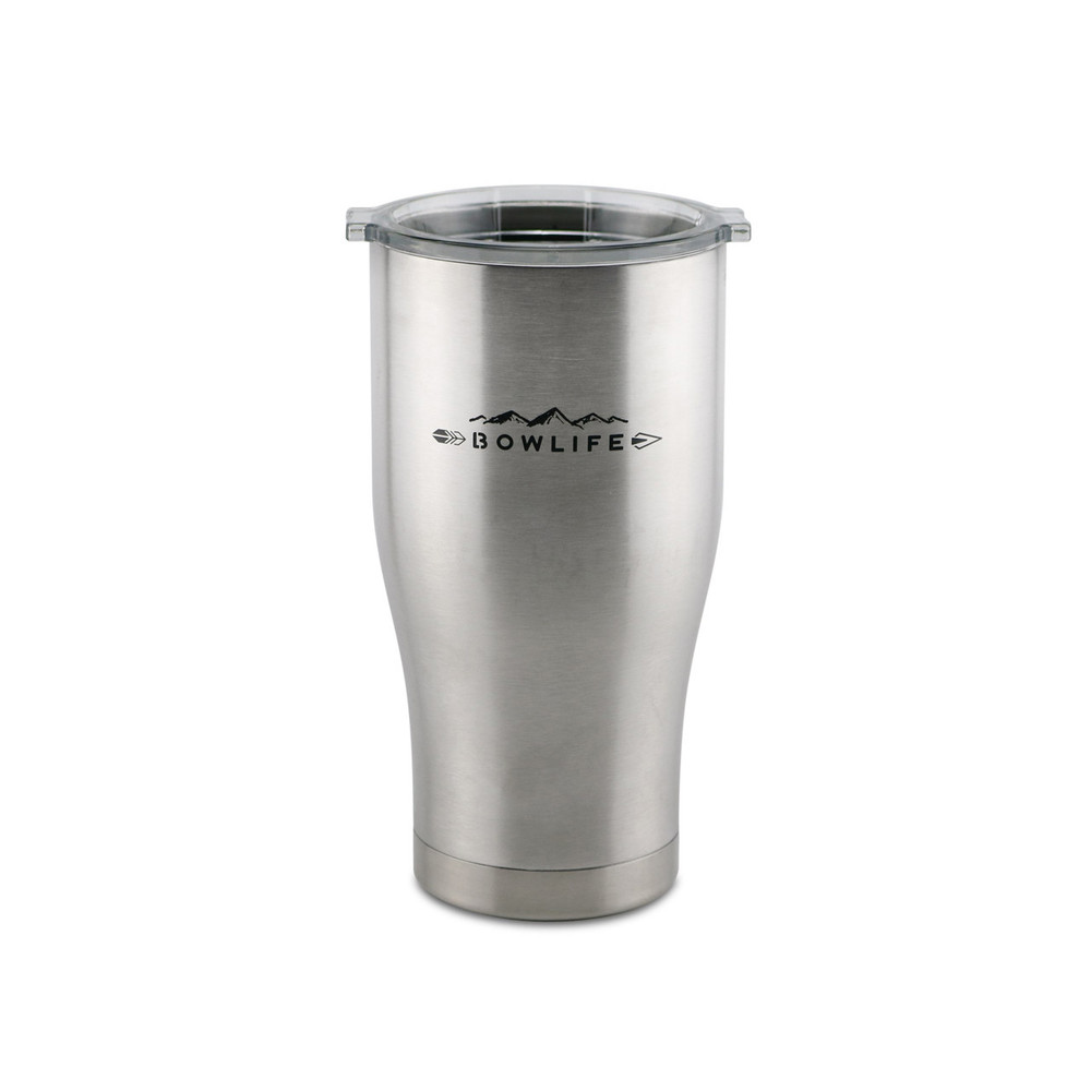 27 ounce Orion Coolers and Bowlife co-branded insulated tumbler