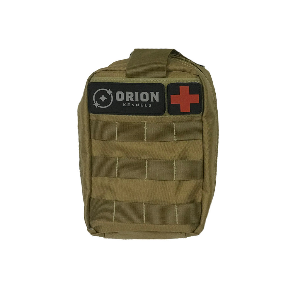 Orion Kennel MOLLE Pouch: Medical Adobe