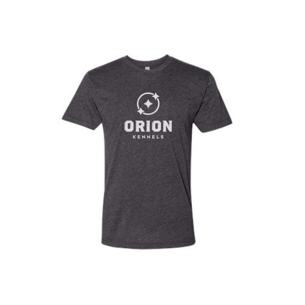 Orion Kennels Black Heather Shirt - Front