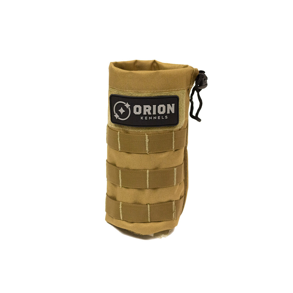 Orion Kennel MOLLE Sleeve: Water Bottle Adobe