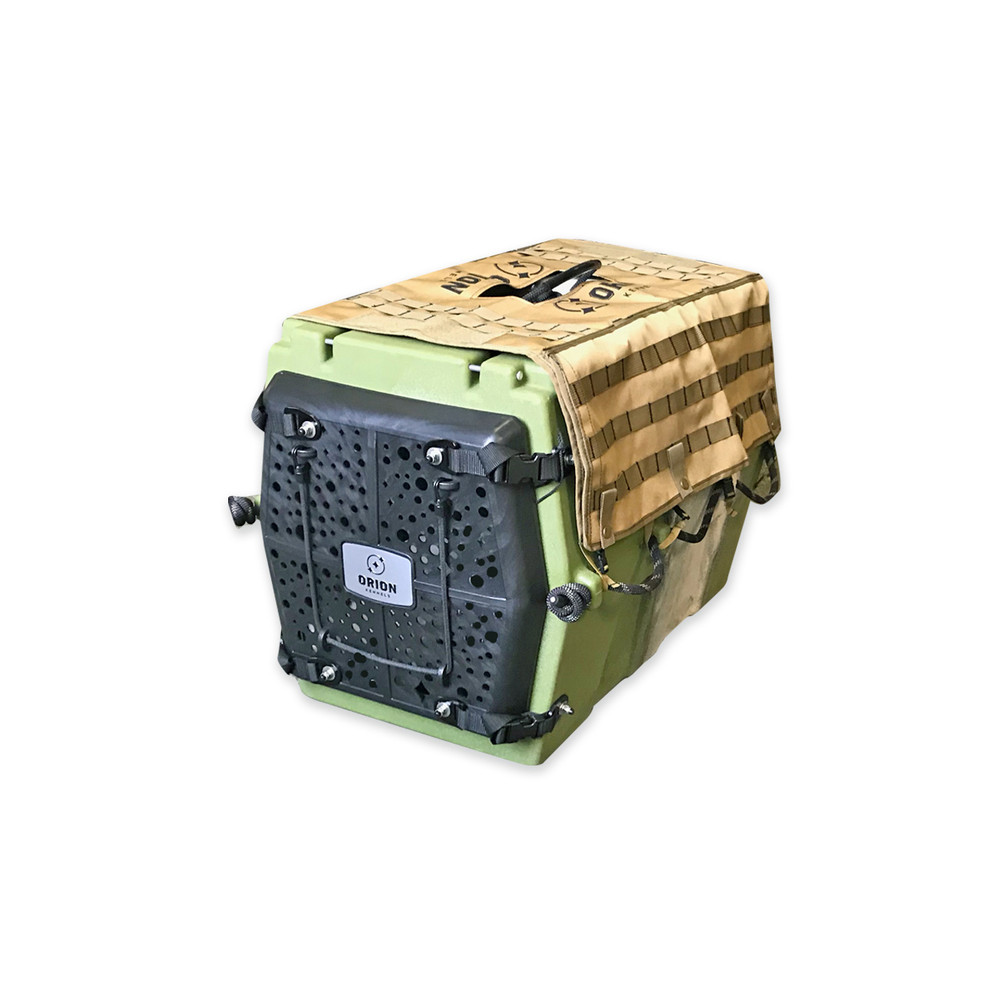 Orion Kennel AD2 MOLLE Kennel Cover Adobe